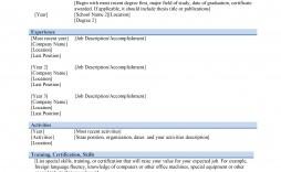 Resume Word Format Job Graphic Designer M  Ms Template Design Creative Free Download 2020