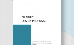 Template Graphic Design Proposal Idea  Sample Pdf Doc Word