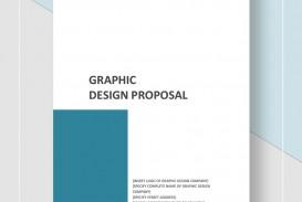 Template Graphic Design Proposal Idea  Pdf Sample