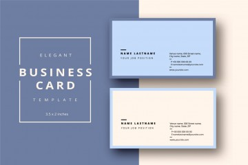 Word Busines Card Template Free Download  Microsoft 2007 Double Sided Blank360