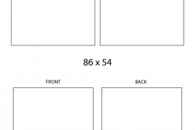 Word Busines Card Template Free Download Simple  Microsoft 2007 Double Sided Blank