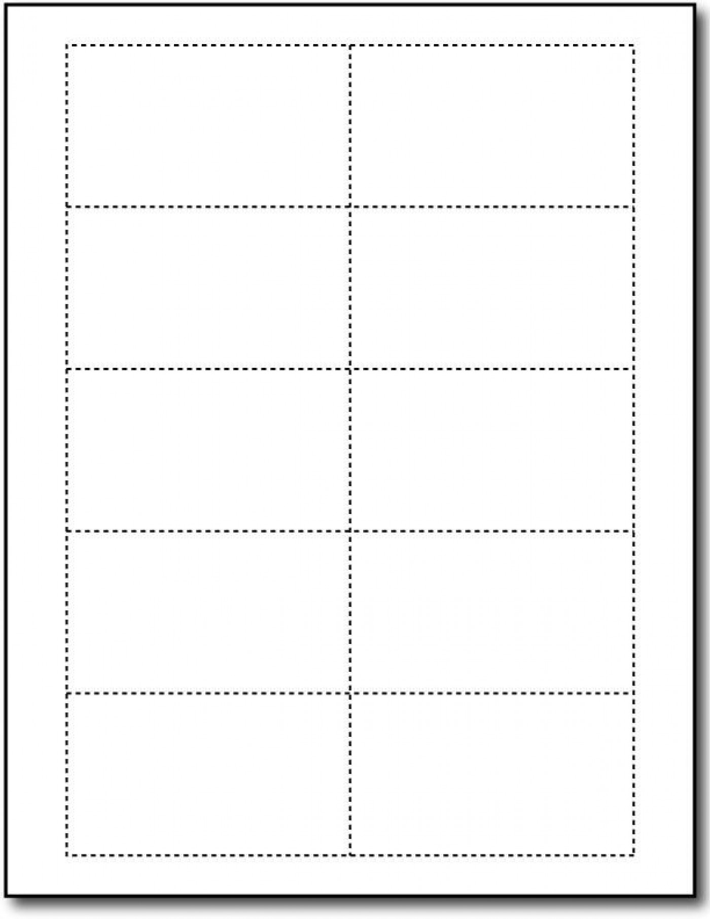 Word Busines Card Template Free Simple Download  Microsoft 2007 Double Sided Blank1400