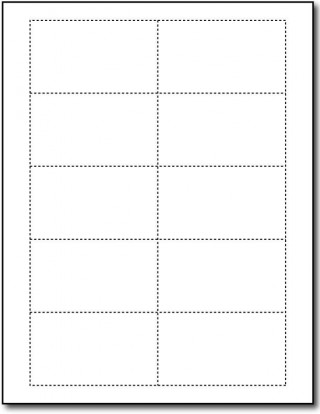 Word Busines Card Template Free Simple Download  Microsoft 2007 Double Sided Blank320