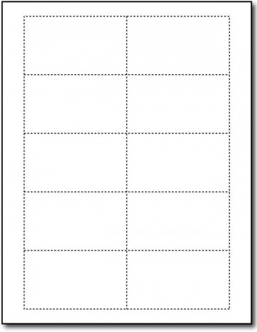 Word Busines Card Template Free Simple Download  Microsoft 2007 Double Sided Blank360